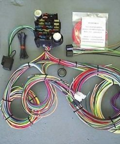 Universal Wiring Harness 18 Fuse - 21 Circuits