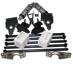 48-72 Ford Trucks Fatbar 4 Link Rear Suspension Kit