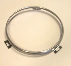 48-79 Round Headlight Retainer Ring - SS
