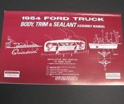1954 FORD TRUCK BODY/INT. ASSY.MANUAL
