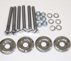 53-60 Bed to Frame Mounting Bolt Kit - SS - Short Bed