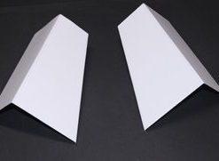 53-56 Frame Horn Covers - SS