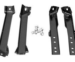 1960 - 1962 Chevy Truck Rear Bumper Bracket Set - Fleetside Bed