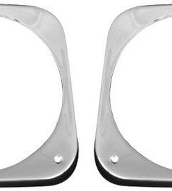 64 - 66 Chevy Truck Headlight Bezels - Pair
