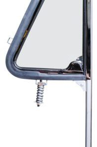 1964 - 1966 Chevy Truck Vent Window Assembly With Glass - LH