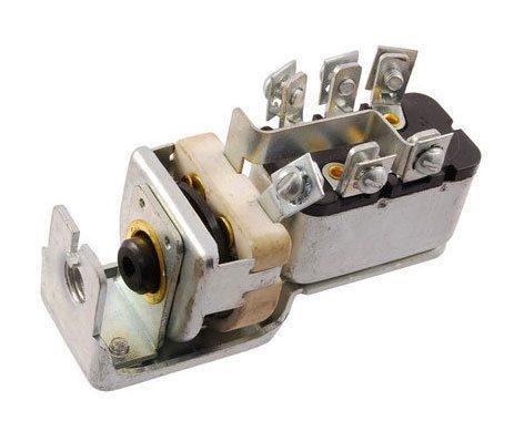 51 54 Ford Truck Headlight Switch 6 Or 12 Volt No Knob Cmw Trucks