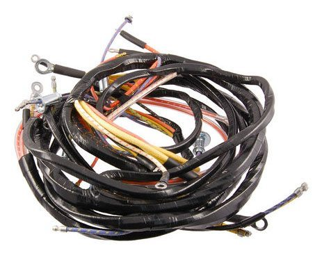 49 - 50 Ford Truck Dash Wiring Harness - 6 Cyl. - Ignition Switch Left Side  - CMW TrucksCMW Trucks