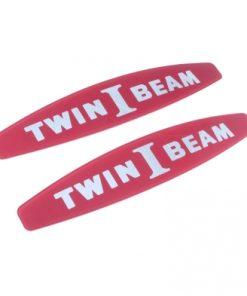 """65 – 66 Ford Truck Fender Side Nameplate Insert – """"Twin I Beam"""""""