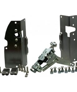 48-52 Ford Truck Bear Claw Latch Kit - Steel - Stock Handles - Bolt On