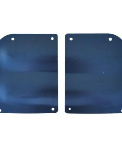55 - 59 Chevy / GMC Truck Door Hinge Access Cover Plate Set