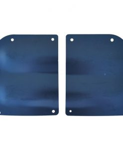 55 - 59 Chevy / GMC Truck Door Hinge Access Cover Plate Set
