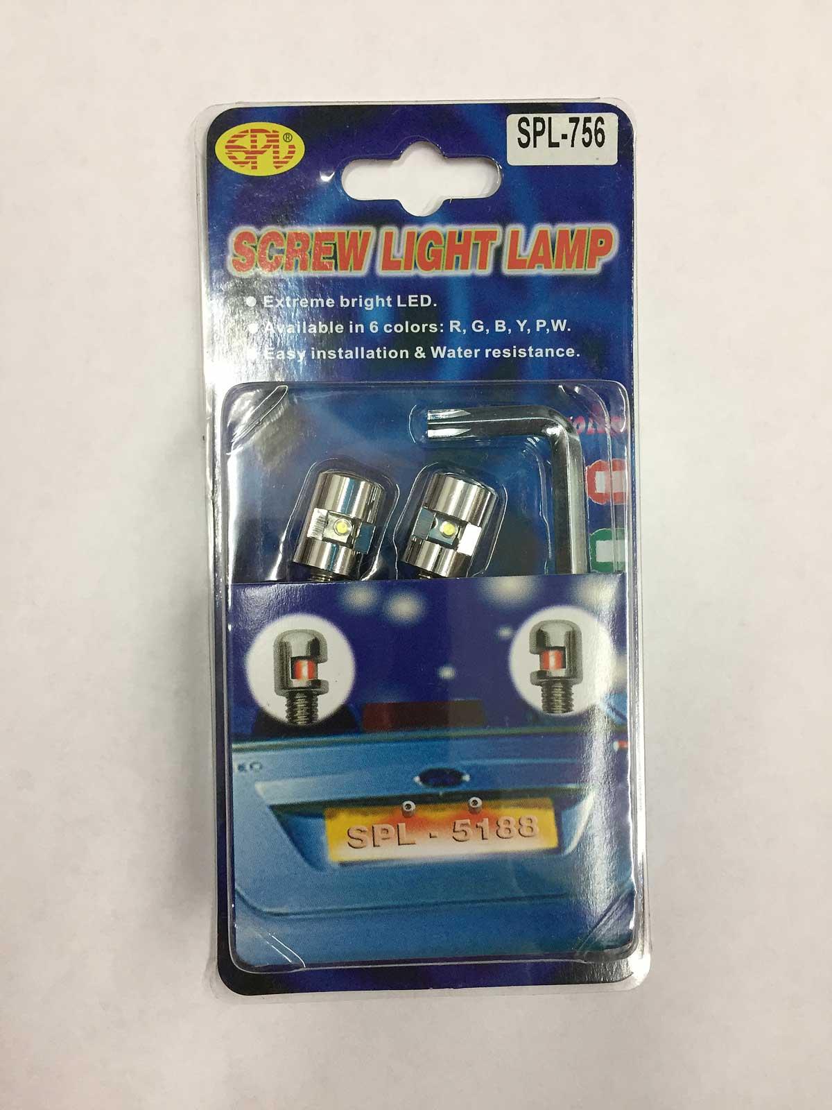 Led Light Set For Roll Pan License Plate Cmw Trucks