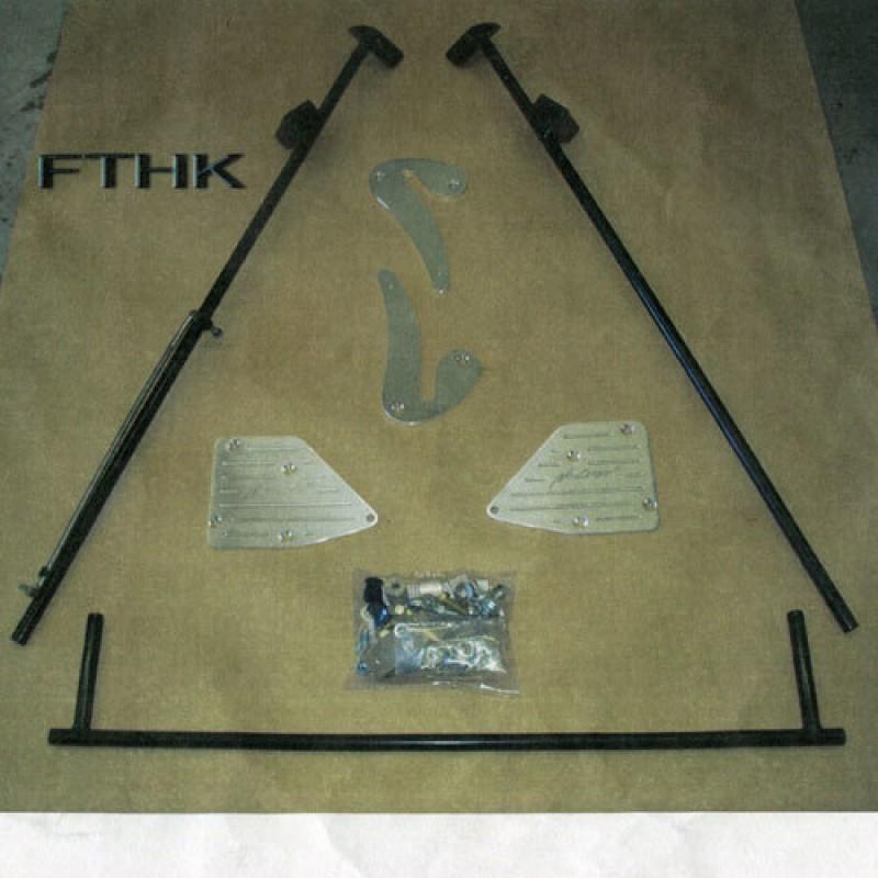 53-56 Ford Truck - No Limit Tilt Hood Kit