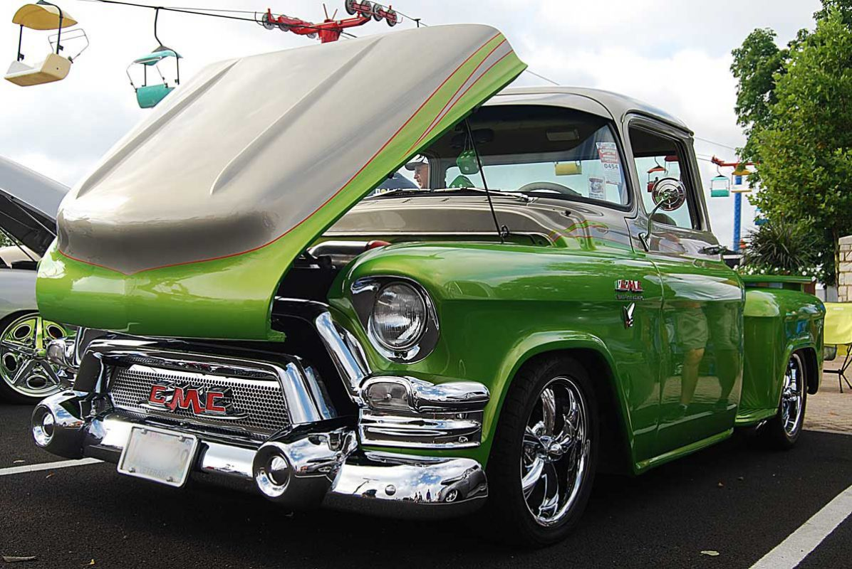 55 GMC Truck - Front and Hood