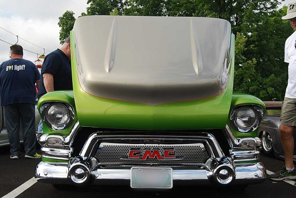 55 GMC Truck - Hood