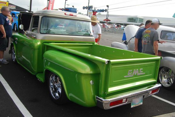 55 GMC Truck Bed