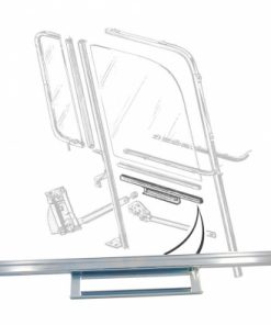 57 - 60 Ford Truck Door Glass Lift Channel - LH or RH